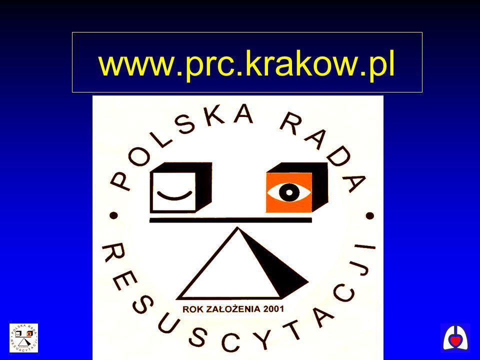 Podstawowe zabiegi resuscytacyjne Zmiany w wytycznych resuscytacji krążeniowo-oddechowej 2005 Europejska Rada Resuscytacji Polska Rada Resuscytacji