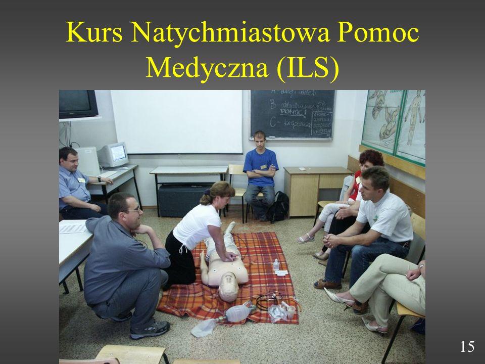 Kurs Natychmiastowa Pomoc Medyczna (ILS) 15