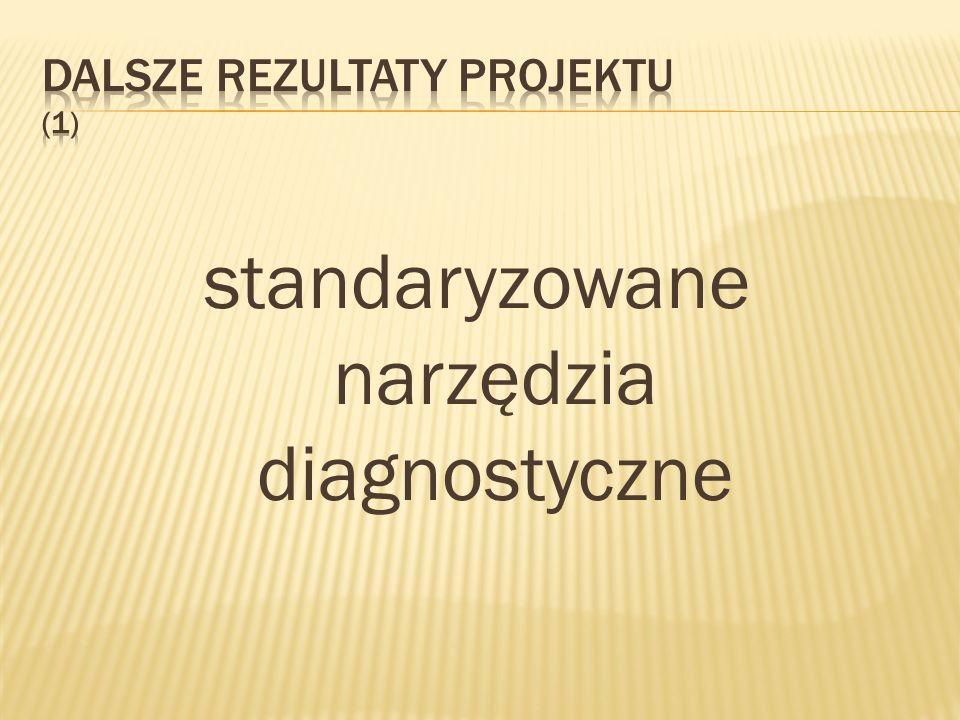 standaryzowane narzędzia diagnostyczne