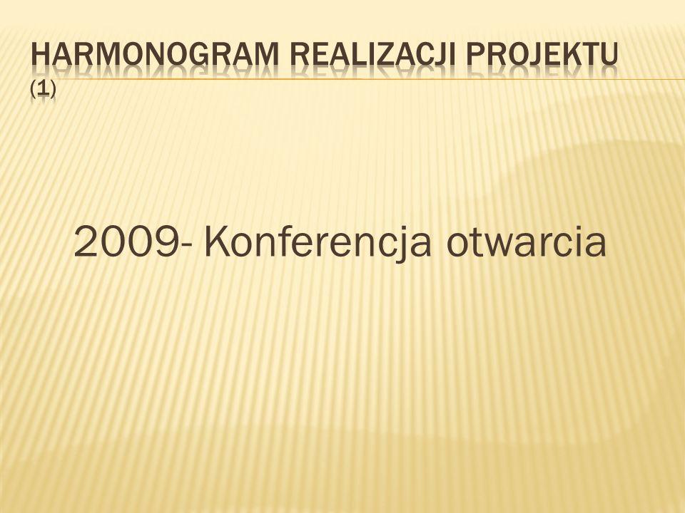 2009- Konferencja otwarcia