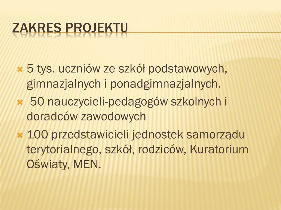 2009/2010- opracowanie narzędzi diagnostycznych