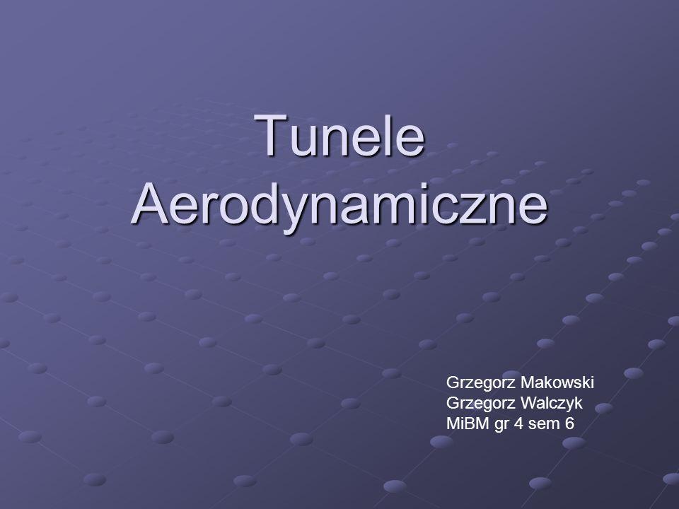 Tunel aerodynamiczny jest podstawowym urządzeniem badawczym aerodynamiki doświadczalnej.