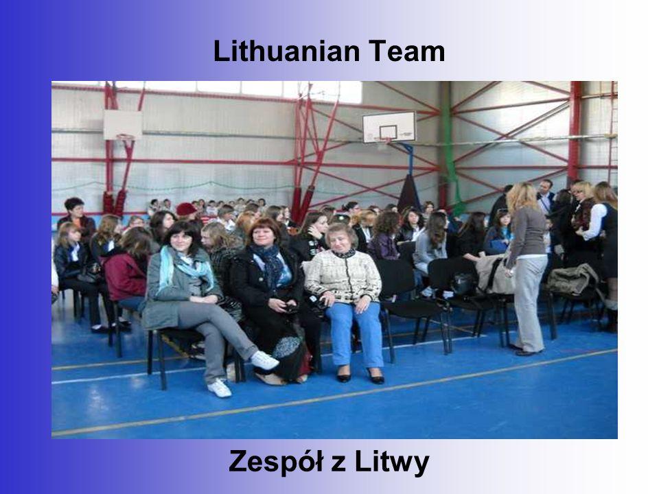 Lithuanian Team Zespół z Litwy