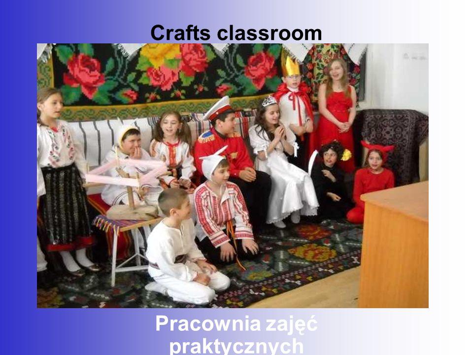 Crafts classroom Pracownia zajęć praktycznych
