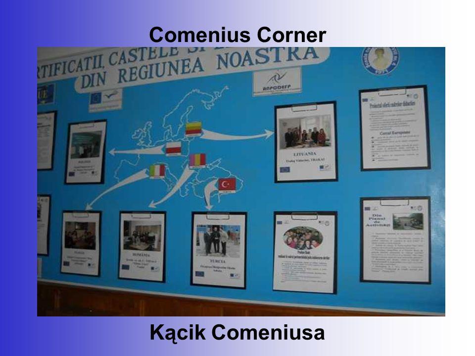 Comenius Corner Kącik Comeniusa