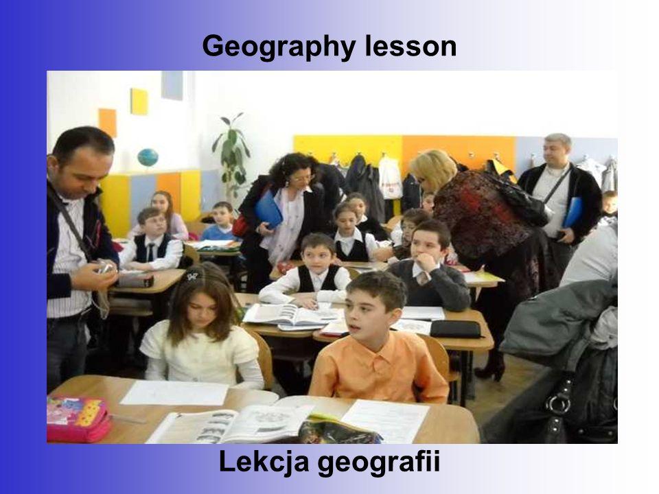 Geography lesson Lekcja geografii