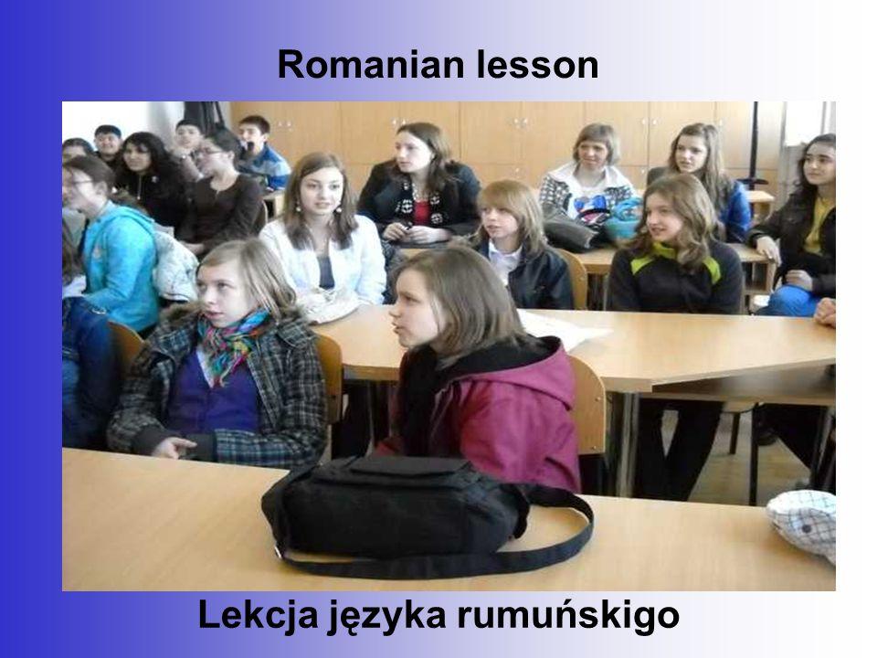 Romanian lesson Lekcja języka rumuńskigo