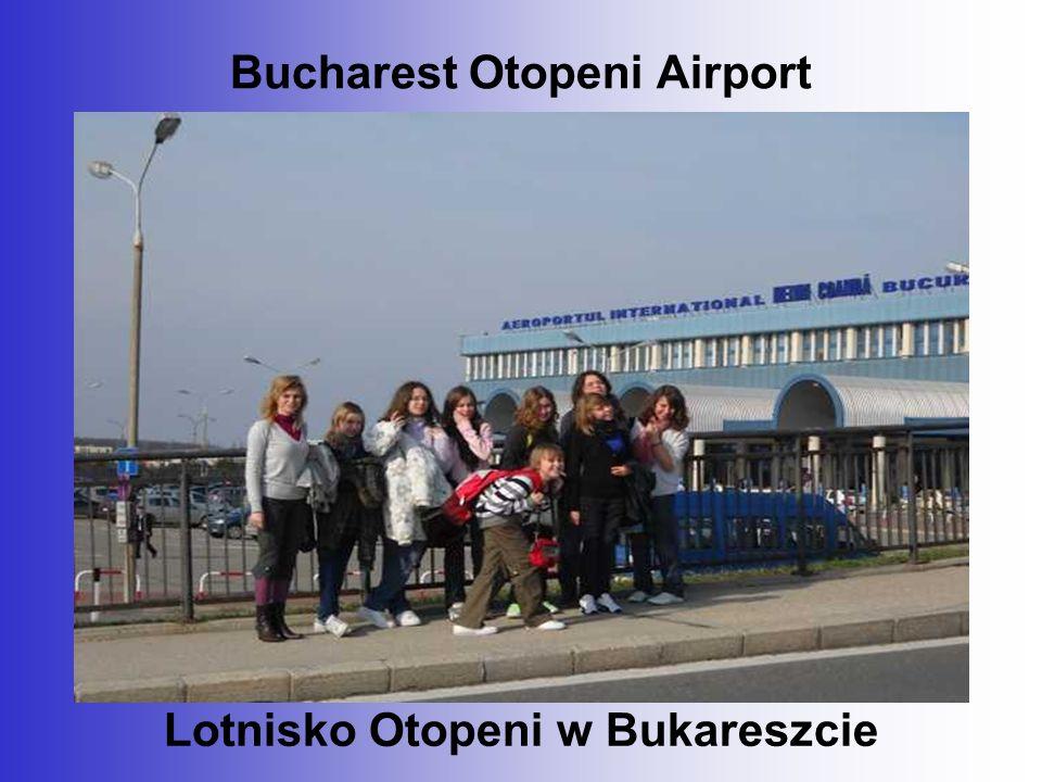 Bucharest Otopeni Airport Lotnisko Otopeni w Bukareszcie