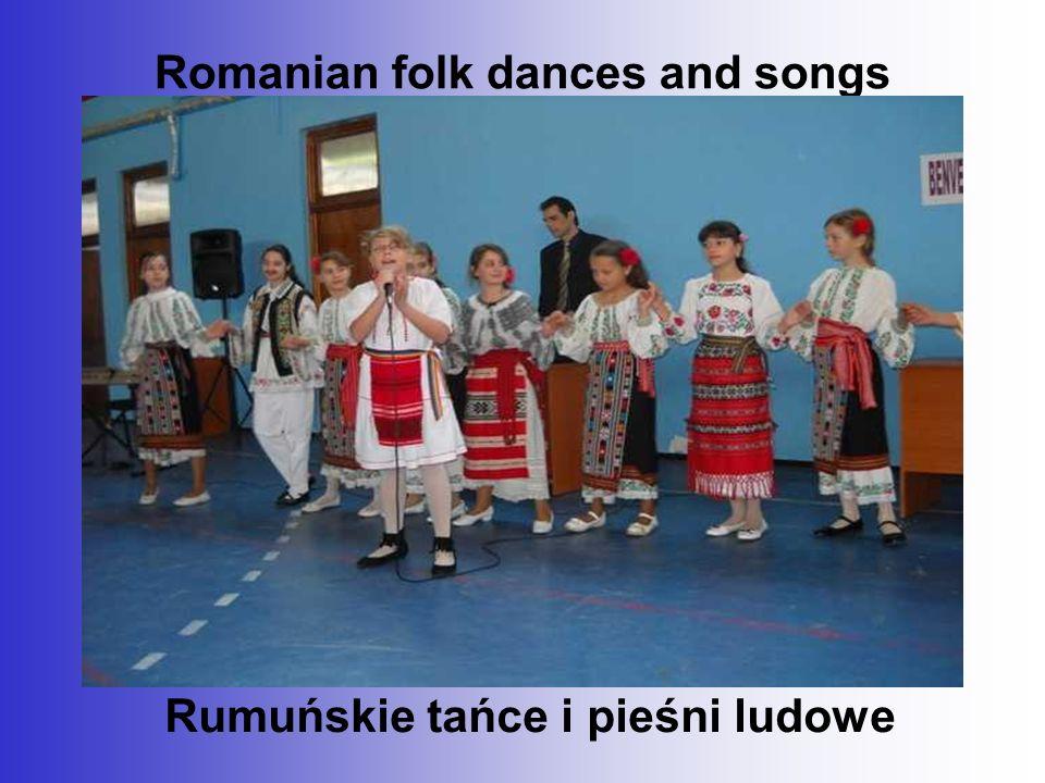 Romanian folk dances and songs Rumuńskie tańce i pieśni ludowe