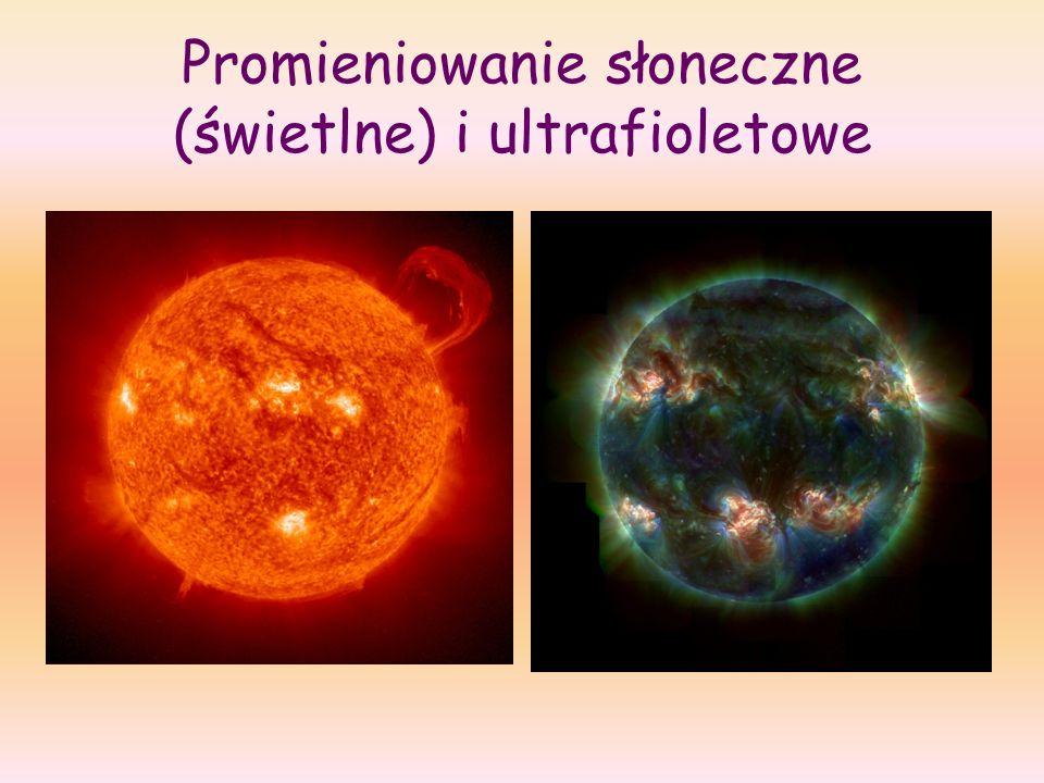 Promieniowanie słoneczne (świetlne) i ultrafioletowe