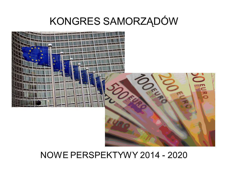 KONGRES SAMORZĄDÓW NOWE PERSPEKTYWY 2014 - 2020