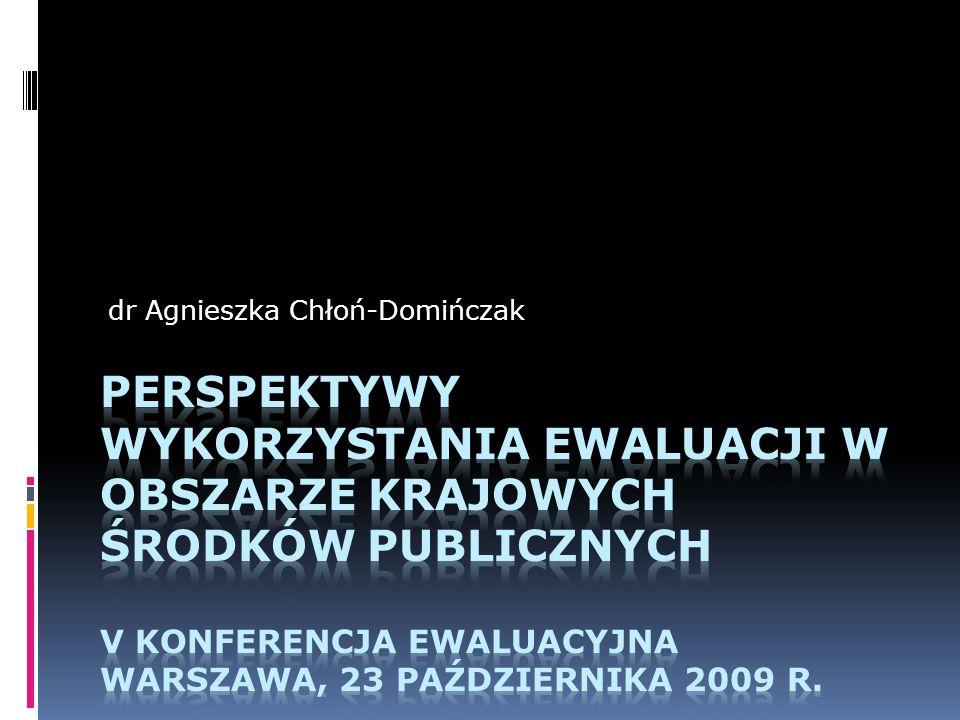 dr Agnieszka Chłoń-Domińczak