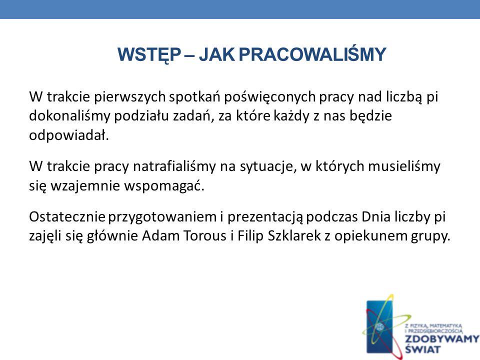 MNEMOTECHNIKA LICZBY PI Inwokacja Witolda Rybczyńskiego do Mnemozyny, bogini pamięci, ogłoszona w Problemach (nr 8/1949), myślnik oznacza cyfrę zero.