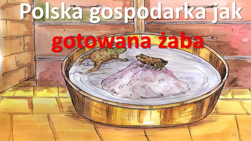 Polska gospodarka jak gotowana żaba 21