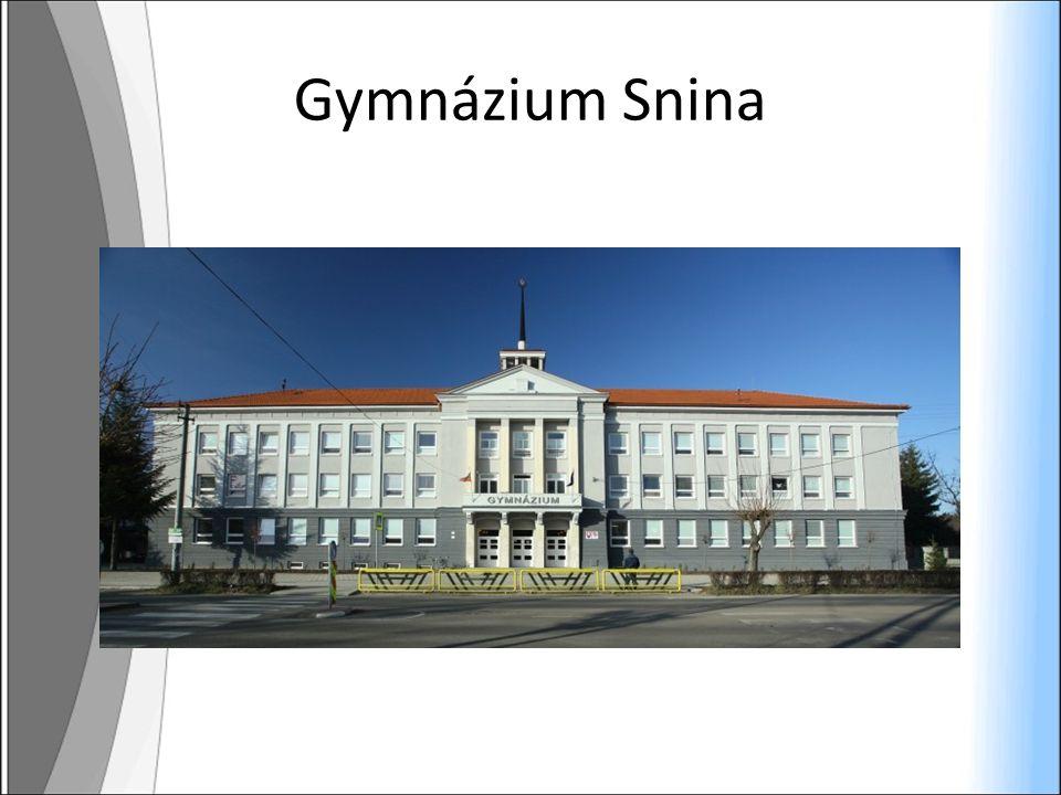 Gymnázium Snina