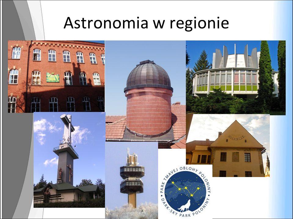 Astronomia w regionie