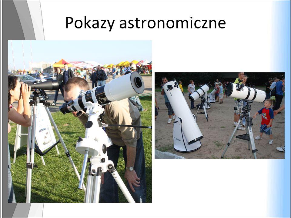 Pokazy astronomiczne