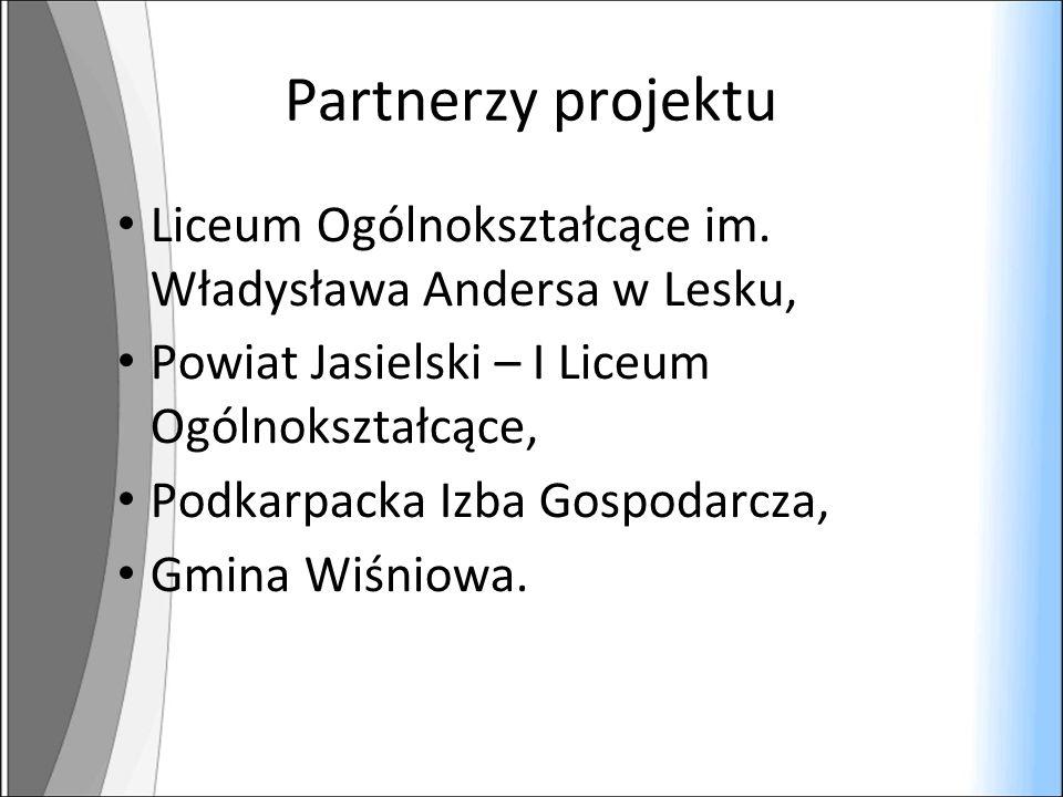 Partnerzy projektu Liceum Ogólnokształcące im.
