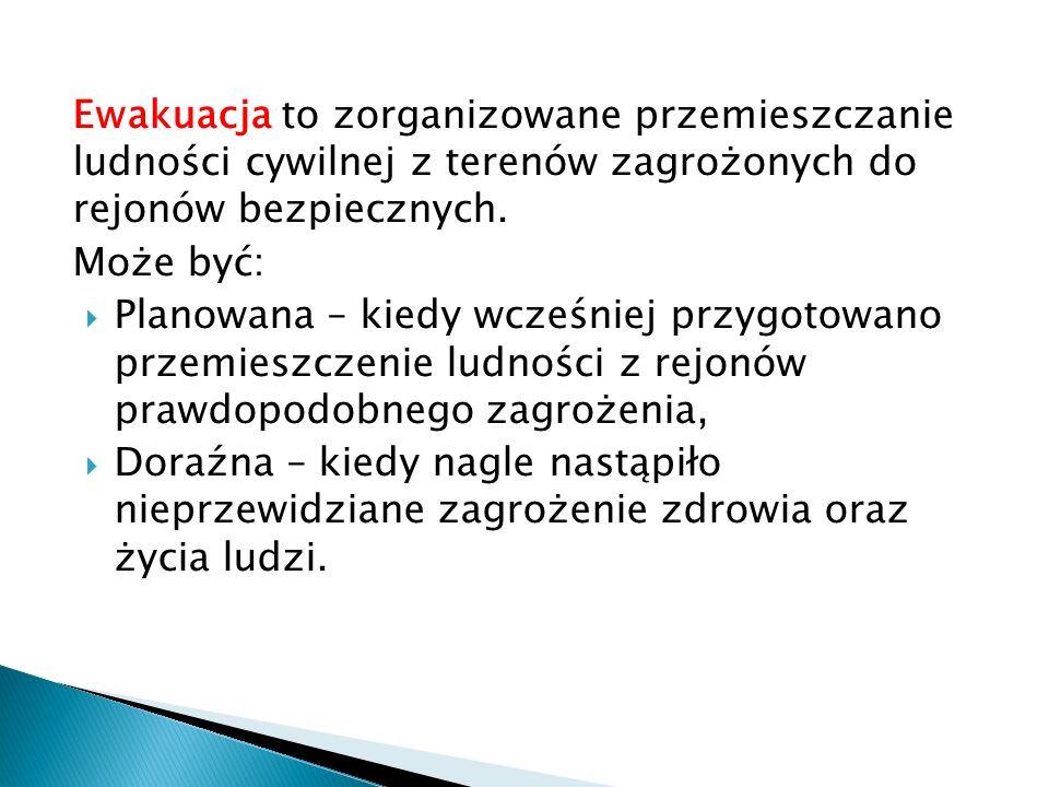 Gorzyce k./ Tarnobrzega woj. podkarpackie Ewakuacja ludności z terenów zalanych