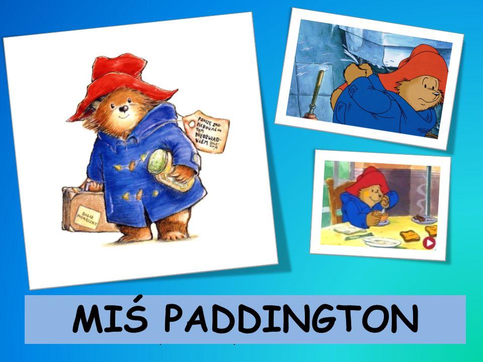Rodzina Brownów znalazła tego misia na stacji Paddington w Londynie i nadała mu imię na jej cześć. Miś ma spokojny temperament, jest pomocnikiem pań B