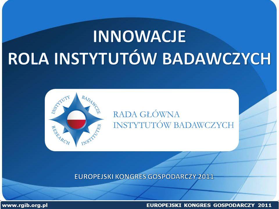 www.rgib.org.pl EUROPEJSKI KONGRES GOSPODARCZY 2011