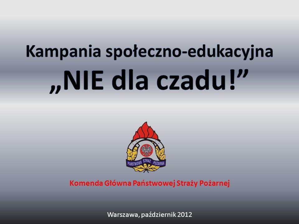 Komenda Główna Państwowej Straży Pożarnej Warszawa, październik 2012
