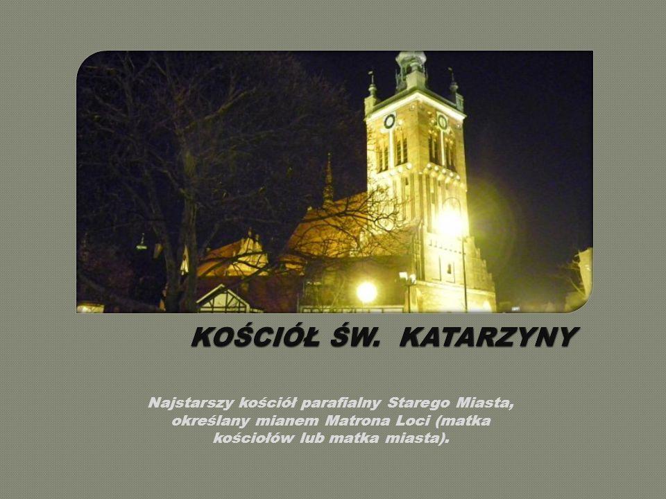 Najstarszy kościół parafialny Starego Miasta, określany mianem Matrona Loci (matka kościołów lub matka miasta).