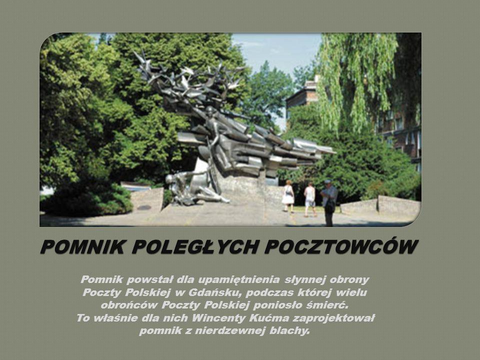 Pomnik powstał dla upamiętnienia słynnej obrony Poczty Polskiej w Gdańsku, podczas której wielu obrońców Poczty Polskiej poniosło śmierć.