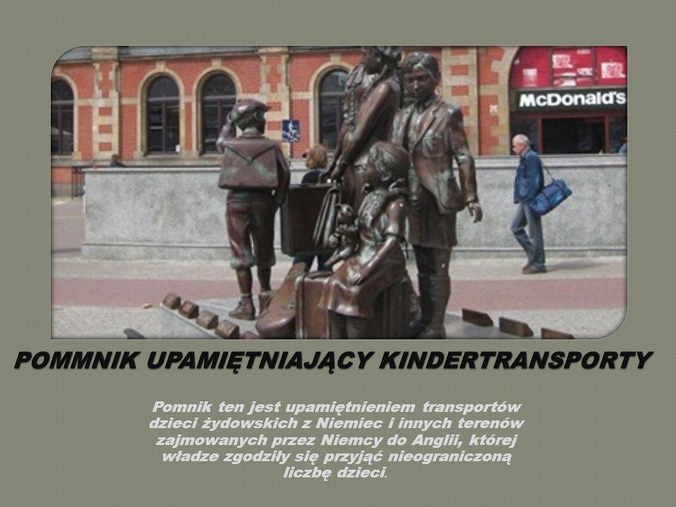 Pomnik ten jest upamiętnieniem transportów dzieci żydowskich z Niemiec i innych terenów zajmowanych przez Niemcy do Anglii, której władze zgodziły się przyjąć nieograniczoną liczbę dzieci.