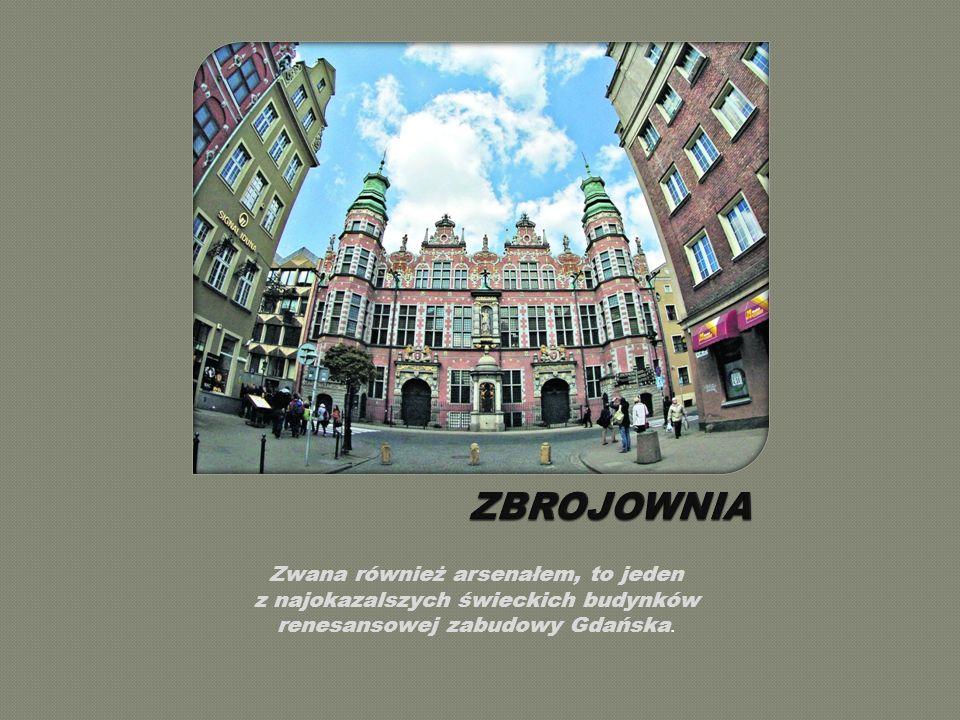 Jest niewątpliwie jedną z najpiękniejszych ulic Gdańska.