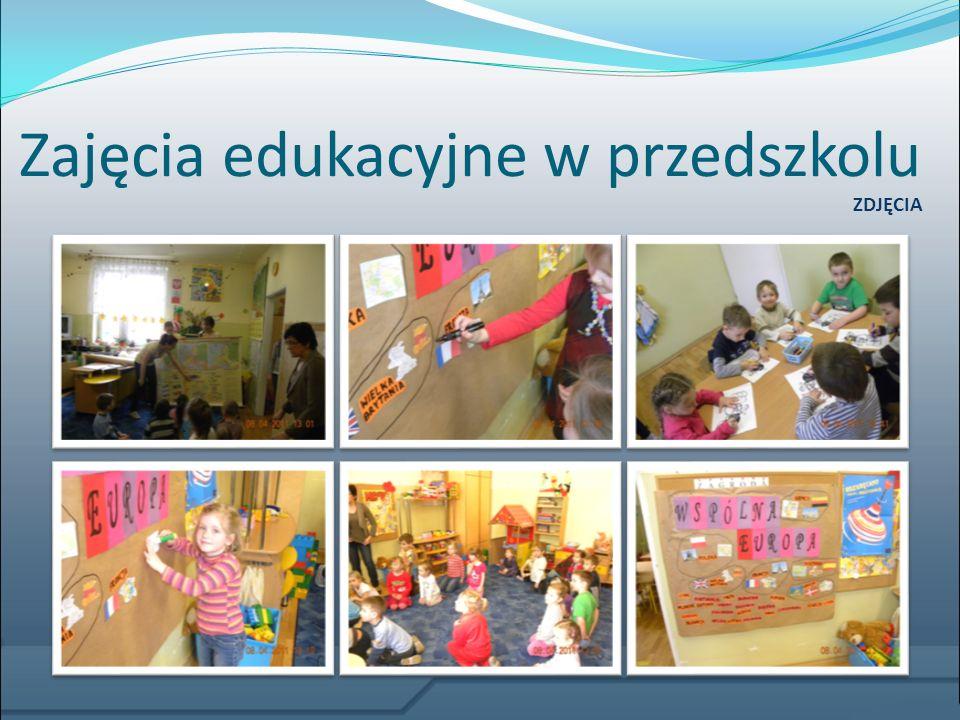 Zajęcia edukacyjne w przedszkolu ZDJĘCIA