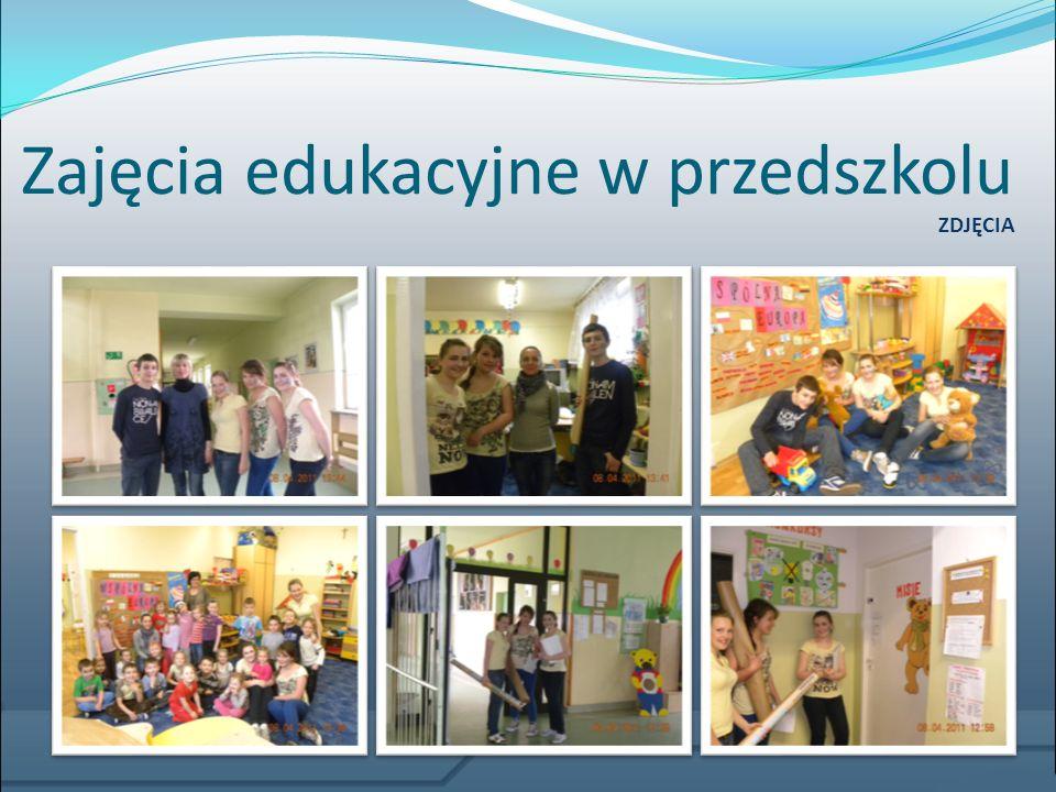 Gazetki edukacyjno-informacyjne Stworzyliśmy także gazetkę o naszej działalności, umieściliśmy na niej nazwiska członków grupy, opiekuna, działania przez nas prowadzone, a także sponsorów.