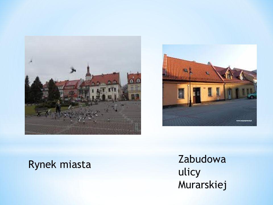 Rynek miasta Zabudowa ulicy Murarskiej