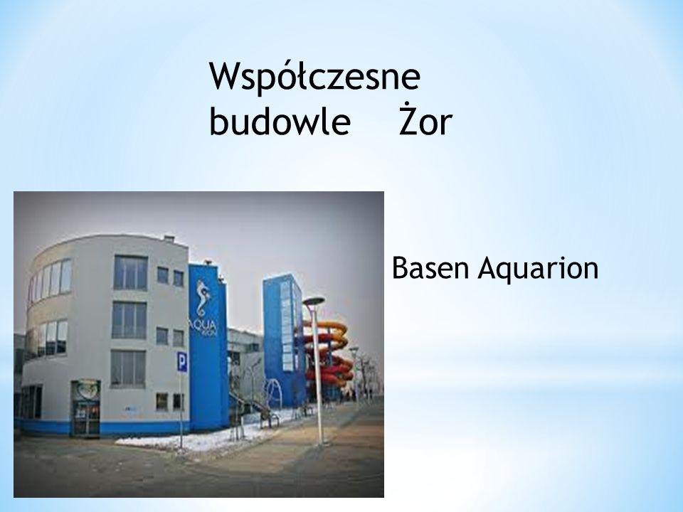 Współczesne budowle Żor Basen Aquarion