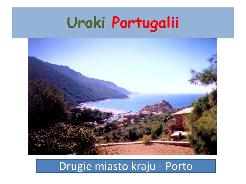 Uroki Portugalii Drugie miasto kraju - Porto