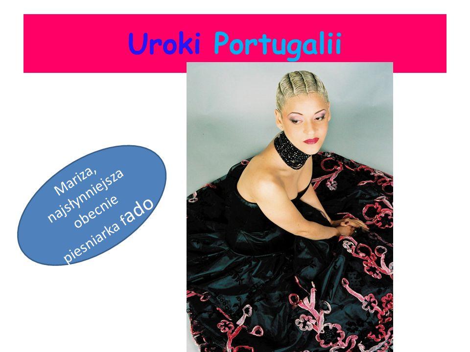 Uroki Portugalii Mariza, najsłynniejsza obecnie piesniarka f ado