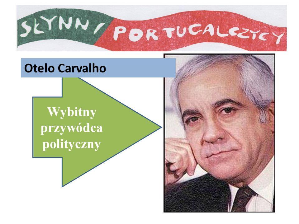 Wybitny przywódca polityczny Otelo Carvalho