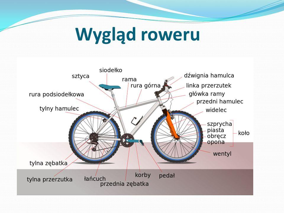 Rower powinien posiadać: Z przodu jedno światło barwy białej lub żółtej selektywnej, które może być migające.
