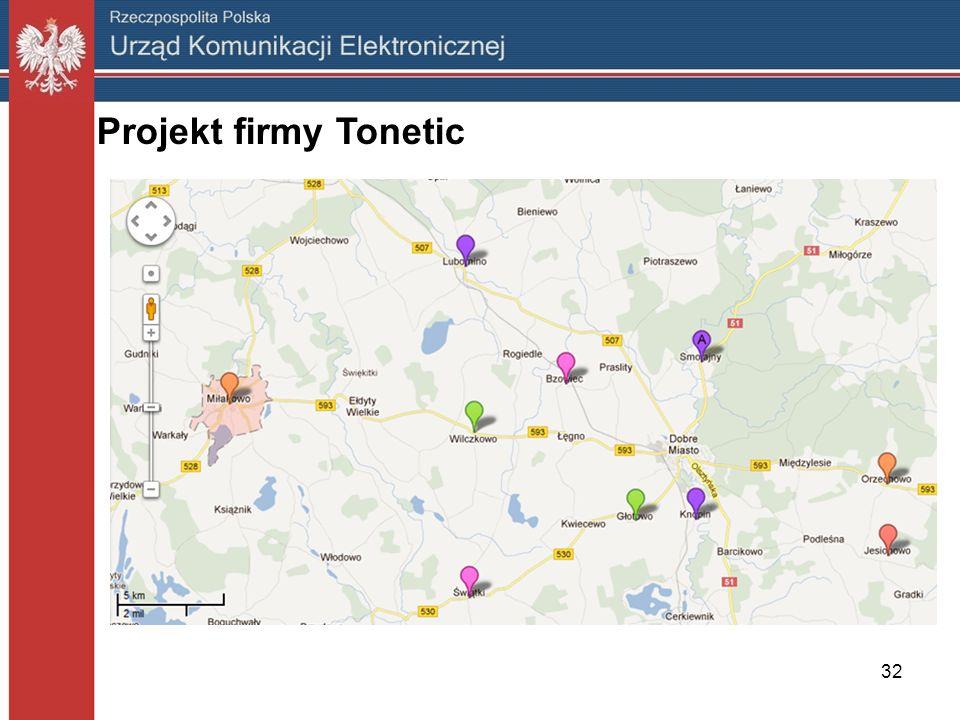 32 Projekt firmy Tonetic