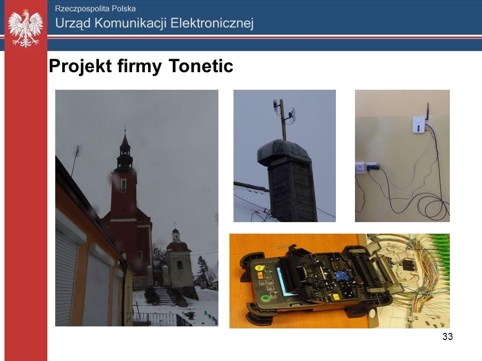 33 Projekt firmy Tonetic