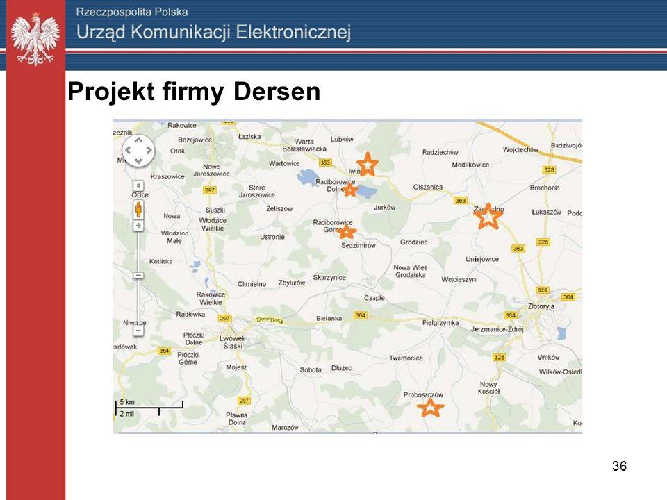 36 Projekt firmy Dersen