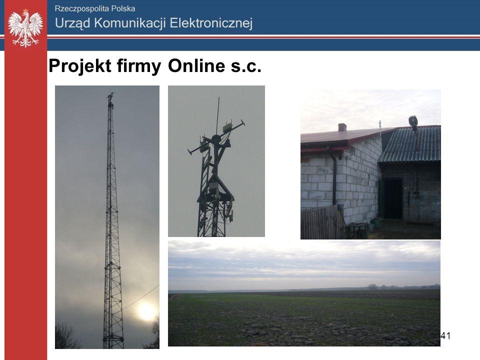 41 Projekt firmy Online s.c.