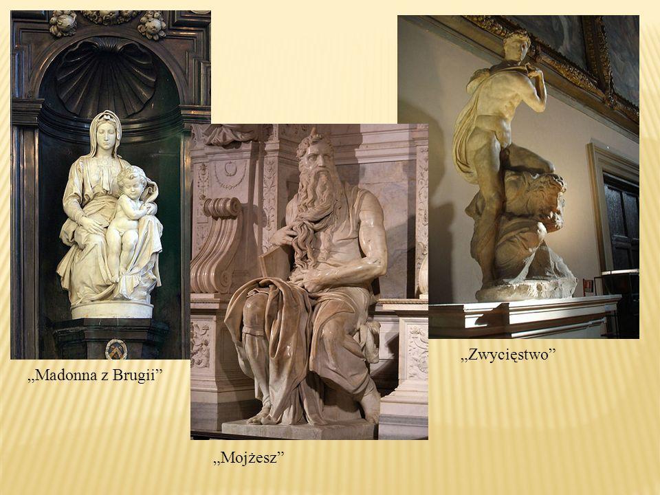 Mojżesz Madonna z Brugii Zwycięstwo
