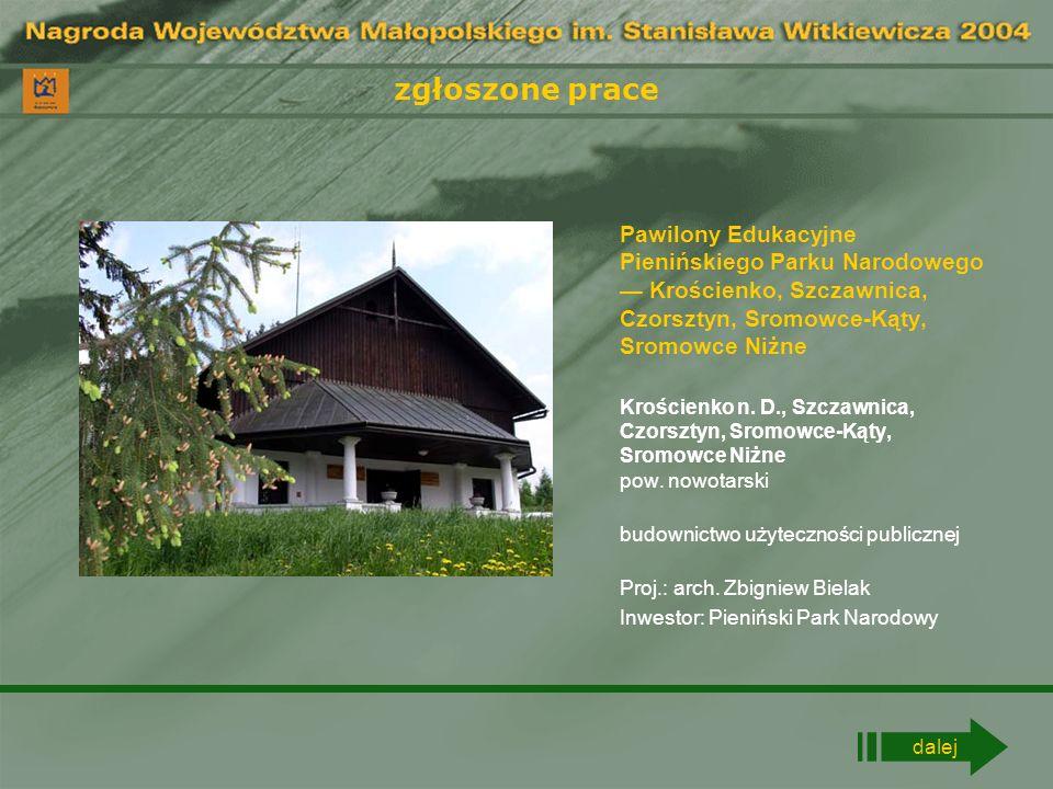 zgłoszone prace Kaplica pw.św. Rafała Kalinowskiego Rudno pow.