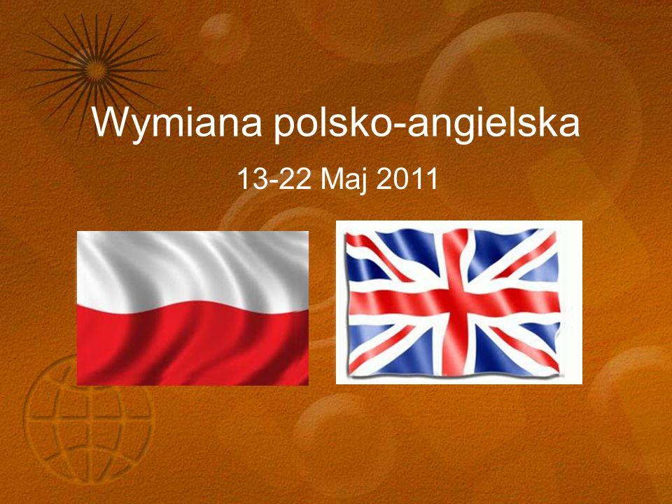Wymiana polsko-angielska 13-22 Maj 2011