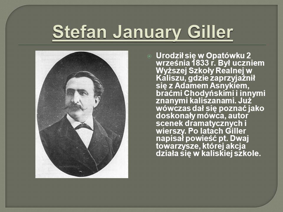 Urodził się w Opatówku 2 września 1833 r. Był uczniem Wyższej Szkoły Realnej w Kaliszu, gdzie zaprzyjaźnił się z Adamem Asnykiem, braćmi Chodyńskimi i