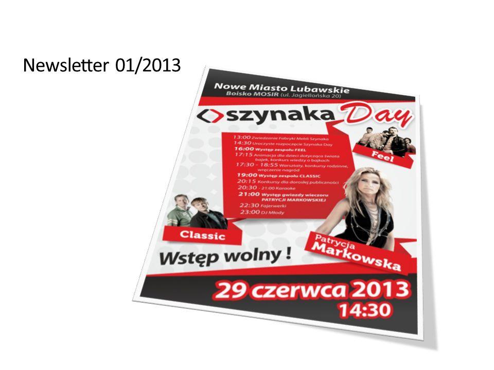 Dział Marketingu Szynaka Meble lipiec 2013 11 Rozstrzygnięcie konkursu plastycznego dla dzieci pracowników Grupy Szynaka.