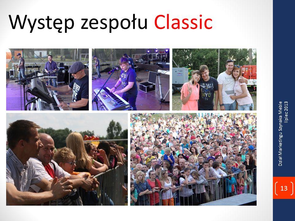 Występ zespołu Classic Dział Marketingu Szynaka Meble lipiec 2013 13