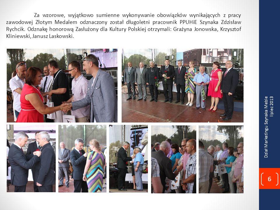 Za wzorowe, wyjątkowo sumienne wykonywanie obowiązków wynikających z pracy zawodowej Złotym Medalem odznaczony został długoletni pracownik PPUHiE Szynaka Zdzisław Rychcik.