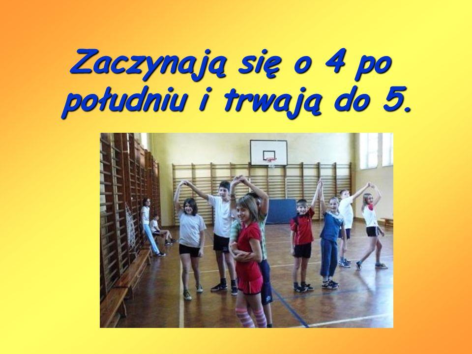 Uczniowie biorący udział w zajęciach są w wieku 10, 11 i 15 lat.